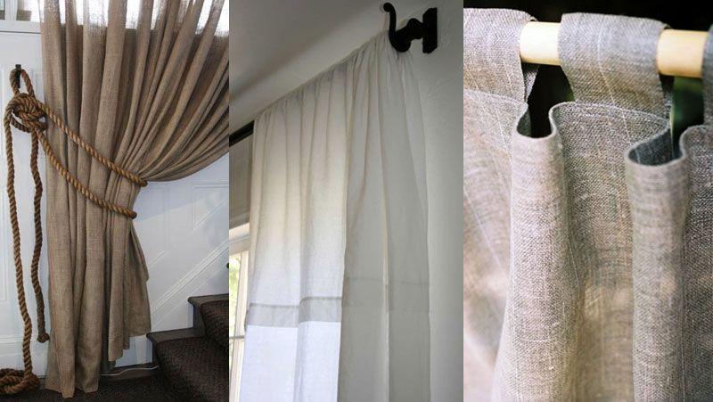 Cortinas rusticas textiles pinterest cortinas for Cortinas rusticas