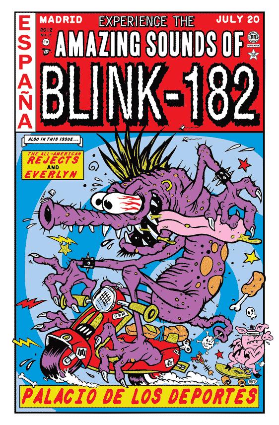 blink-182 Frank Kozik