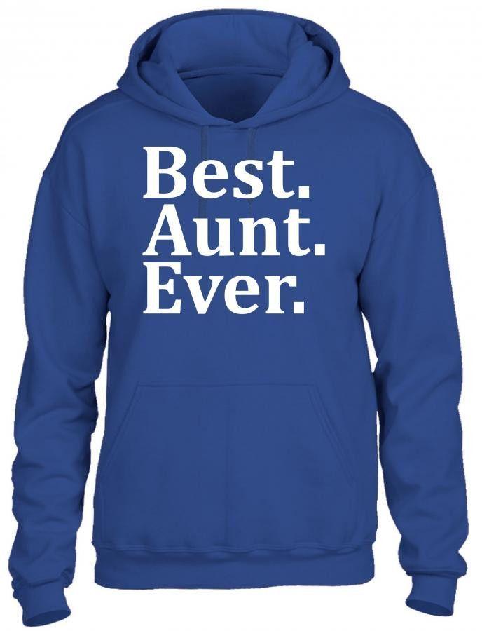 best aunt ever t shirt design 1 HOODIE