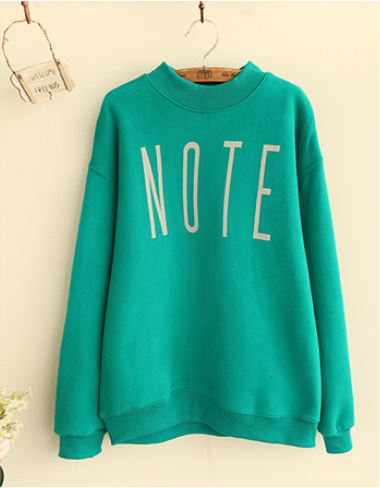 بلوفر ماركة Note Pullover Sweatshirts Fashion