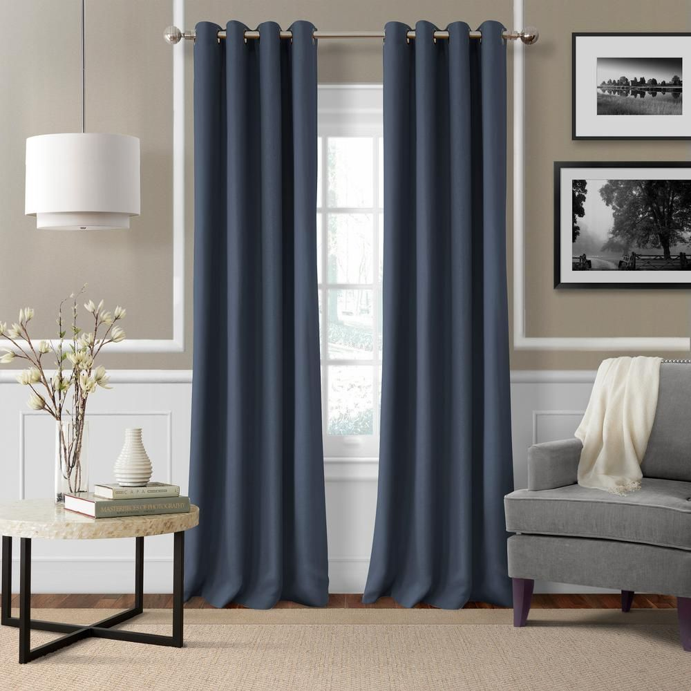 Elrene Home Fashions Elrene Essex 50 In W X 95 In L Polyester