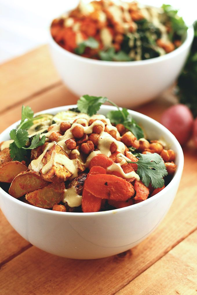 {New!} Roasted Potato & Veggie Power Bowl - ilovevegan.com - #and #blog #dinner #food #healthy #lunch #recipe #recipes #vegan #veganfoodshare #veganism #veganrecipes #vegetarian #whatveganseat