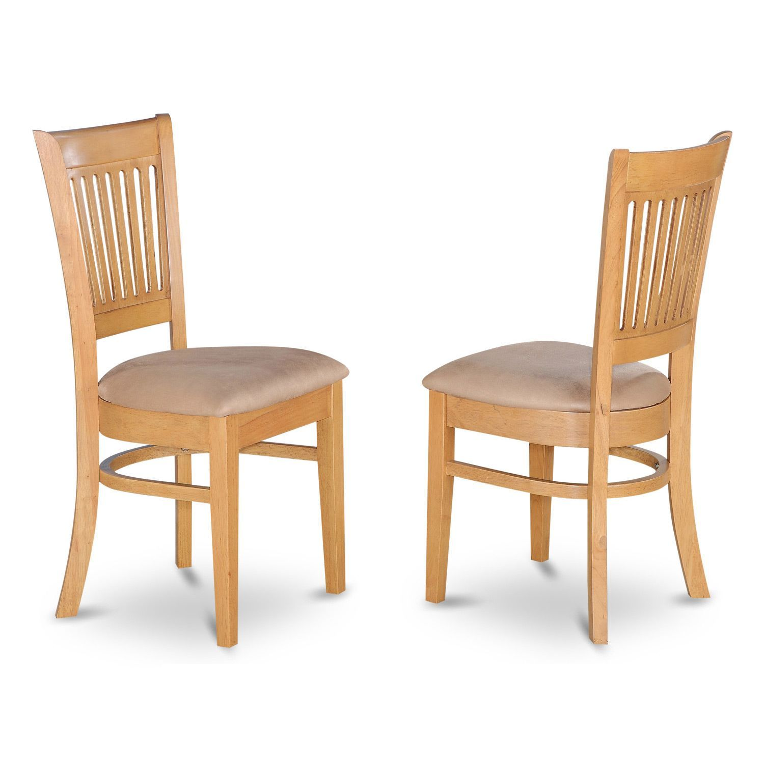 Vancouver Oak Dining Chairs Set Of 2