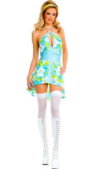 e2cc3c284cc50 Sexy 70's Go-Go Dress Costume, 70's Go Go Costume, Go Go Dance Halloween  Costume