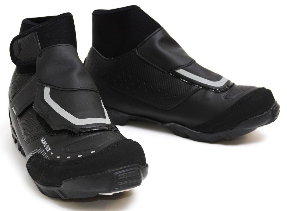 023ec845653 Shimano MW7 Mountain Cyclocross Cold Weather SPD Bike Shoes Gore-Tex EU 39  Black (eBay Link)