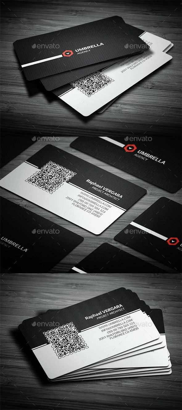 Qr 2 Corporate Business Card | Text fonts, Corporate business and ...