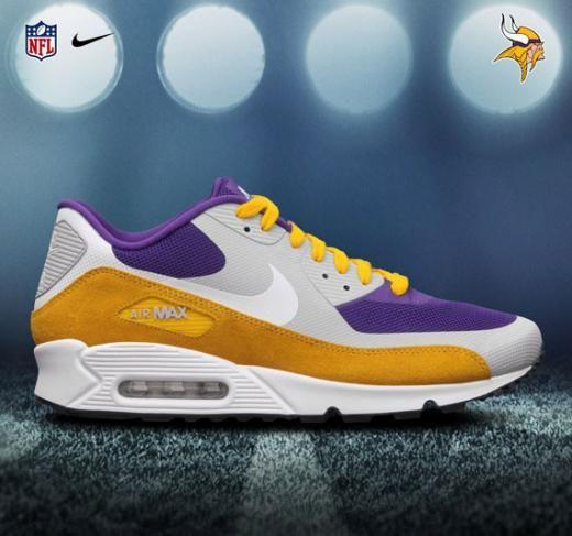 big sale 37275 43b9d NFL x Nike Air Max 90 - NFC North  Vikings