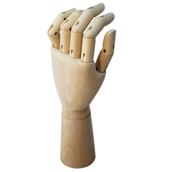 Wooden Hand Wood Mannequin Male Female Kid For Sketching 3d