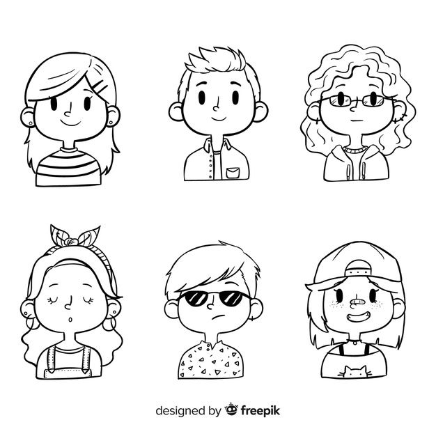 Download Cartoon People Avatar Pack for free
