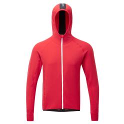 Mens merino Running Red running Sweatshirt Merino Ashmei wnIqaYSY