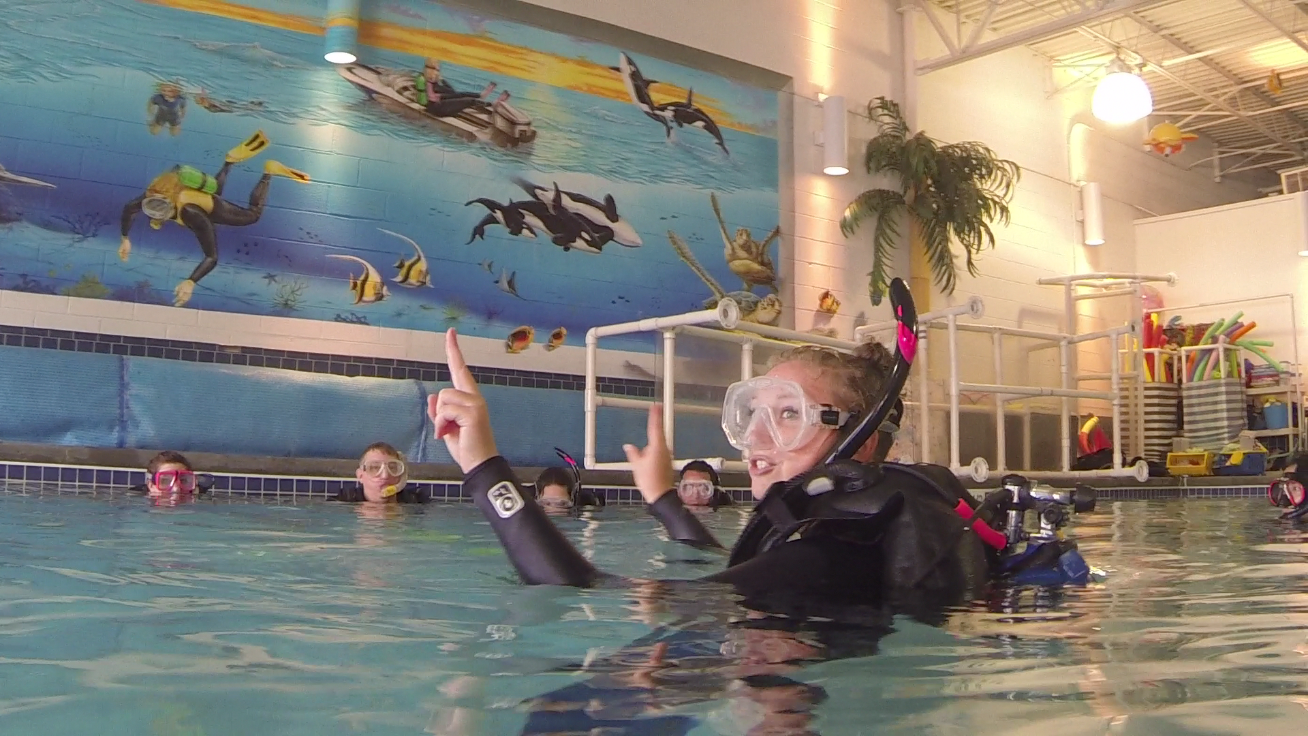 Caitlin, Master Scuba Diver Trainer