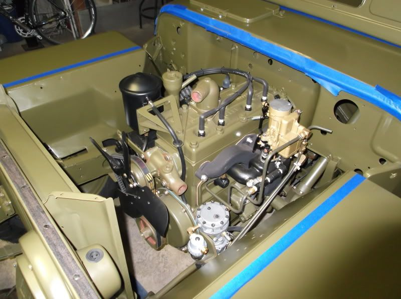 1952 M38 Engine Bing Images Military Jeep Willys Jeep Nissan