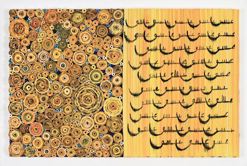 hadieh shafie presents paper sculptures for leila heller gallery at art duba