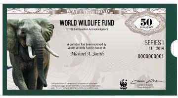 Earth Bond from World Wildlife Fund