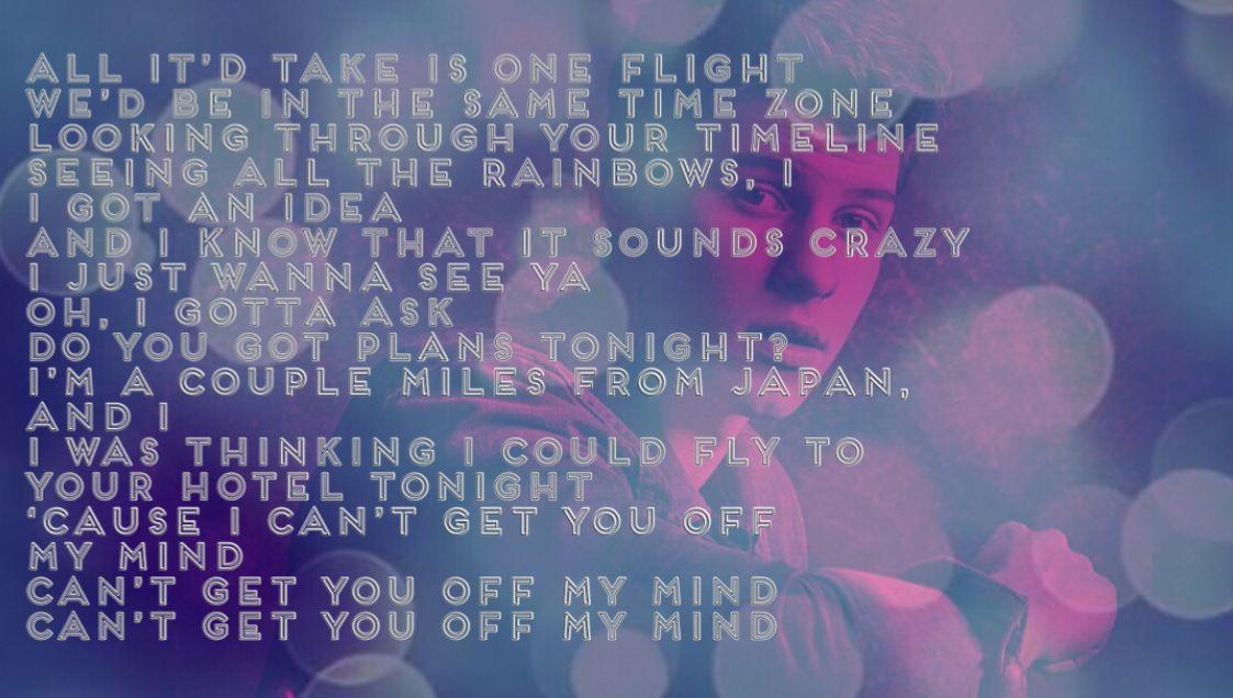 Lost in Japan Shawn Mendes lyrics Pinterest