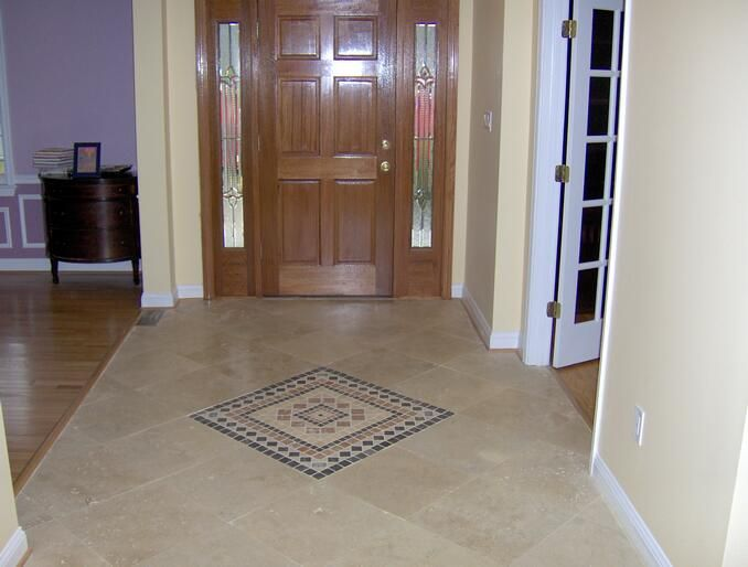 Foyer Tile Design Ideas the tilewood combo in the entryway and then Tile Foyer Tile