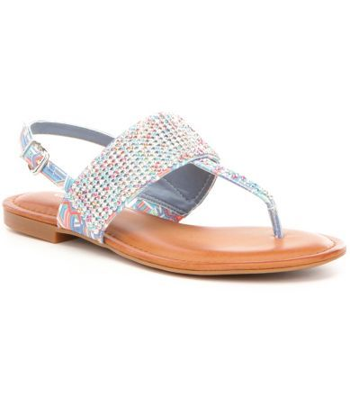 68e5e7883441 Shop for Gianni Bini Brylee Jeweled Flat Sandals at Dillards.com. Visit  Dillards.com to find clothing