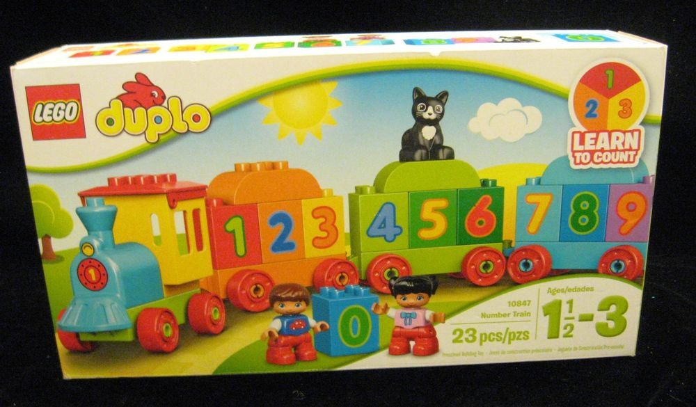 LEGO 10847 Duplo My First Number Train Preschool Toy