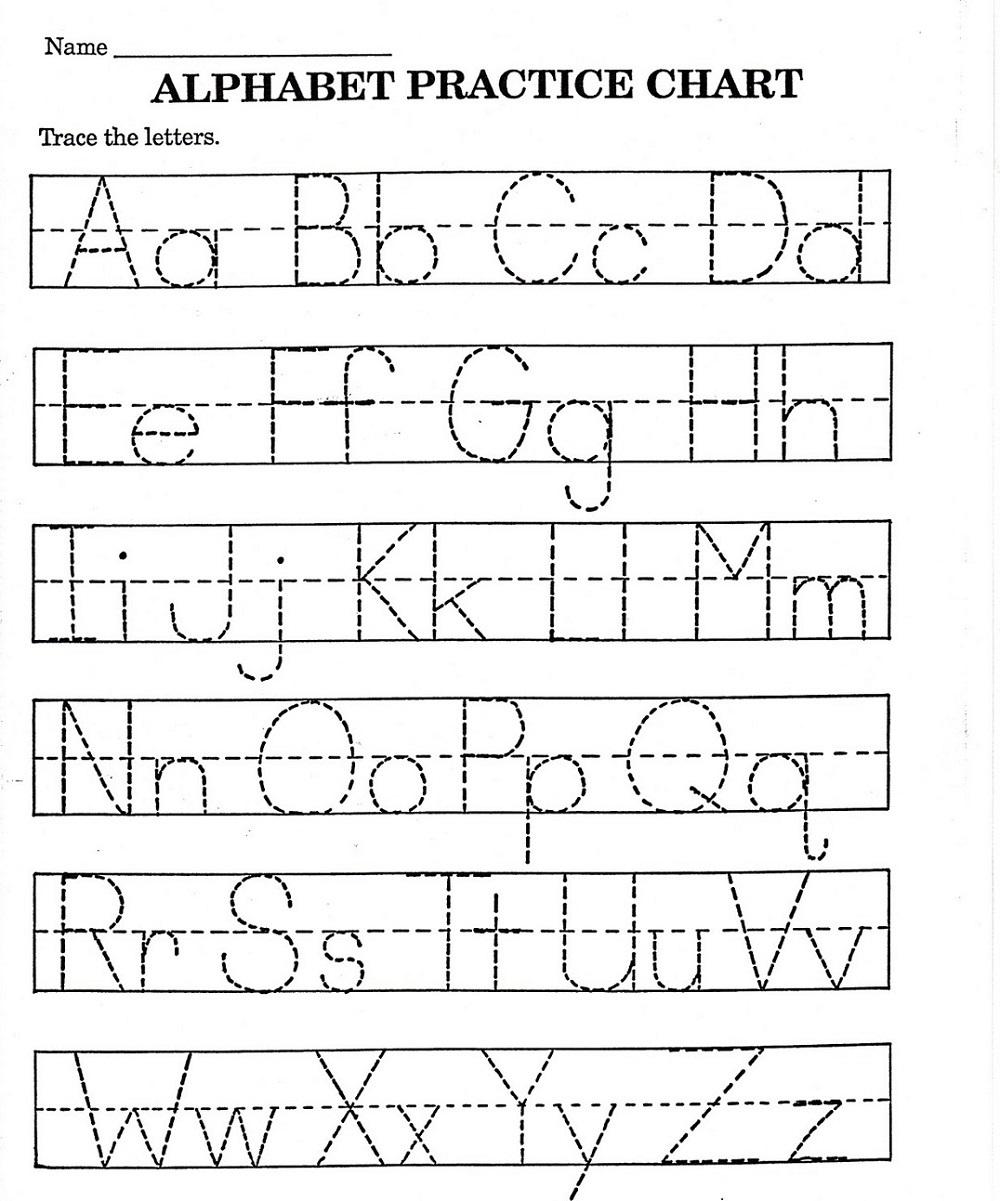 - ABC Printable Worksheet For Kindergarten Letter Recognition