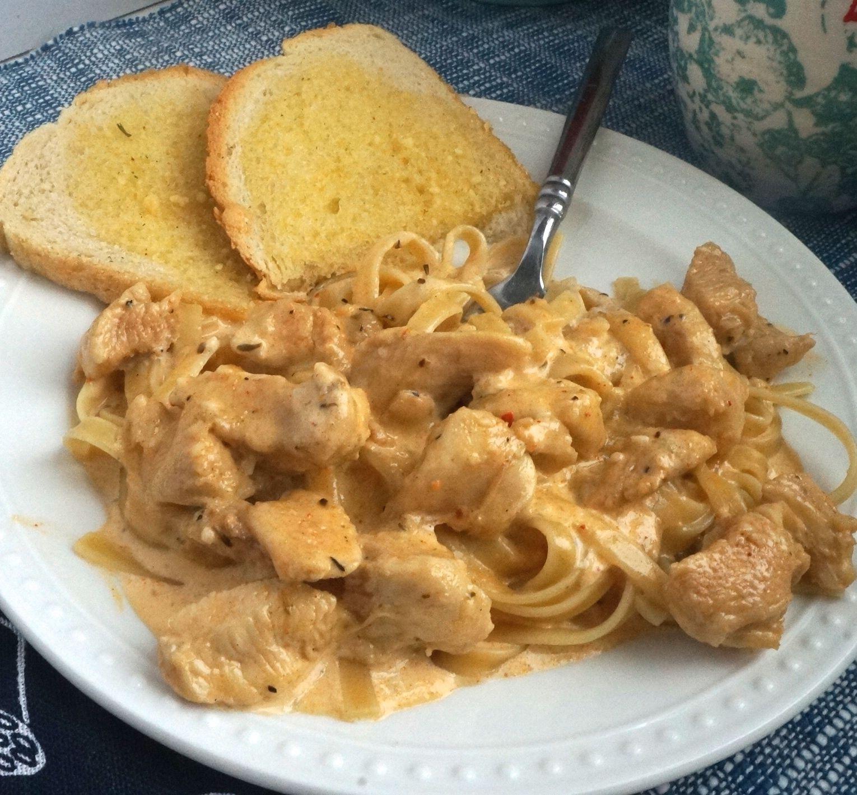 Blackened chicken alfredo pasta recipe with images