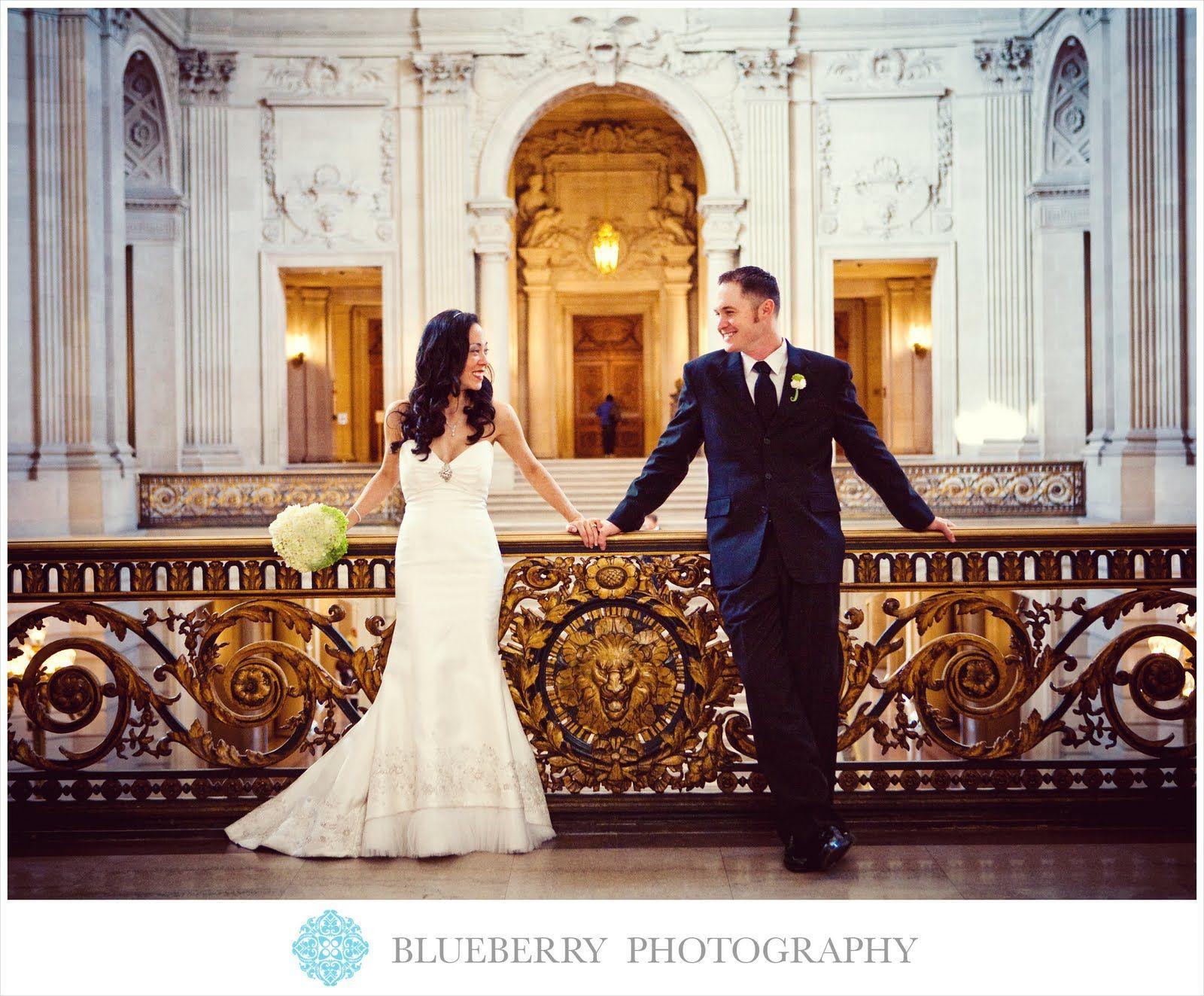 San Francisco City Hall Elopement Door Wedding