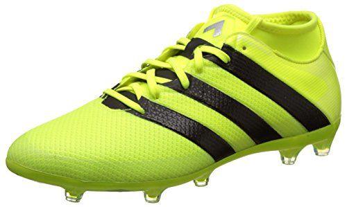 Adidas Messi 16.3 FG, Botas de Fútbol para Hombre, Plata (Plamet/Negbas/Azuimp), 43 1/3 EU adidas