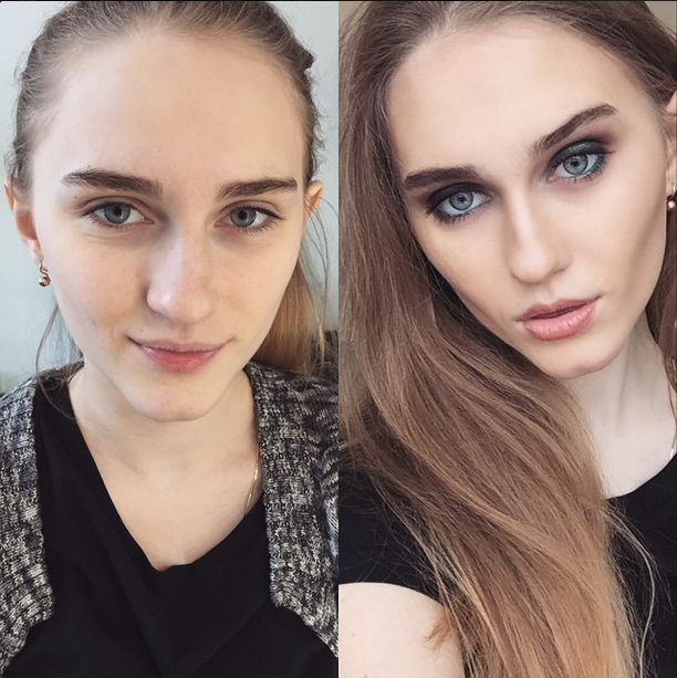 These insta makeovers will make you insta impressed makeup 11 insane instagram transformations to inspire your own before after publicscrutiny Choice Image