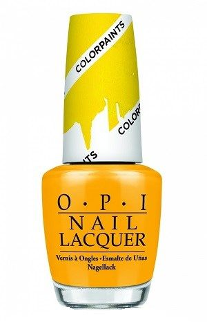 Opi Primarily Yellow Nail Polish Nlp20 Opi Nail Polish