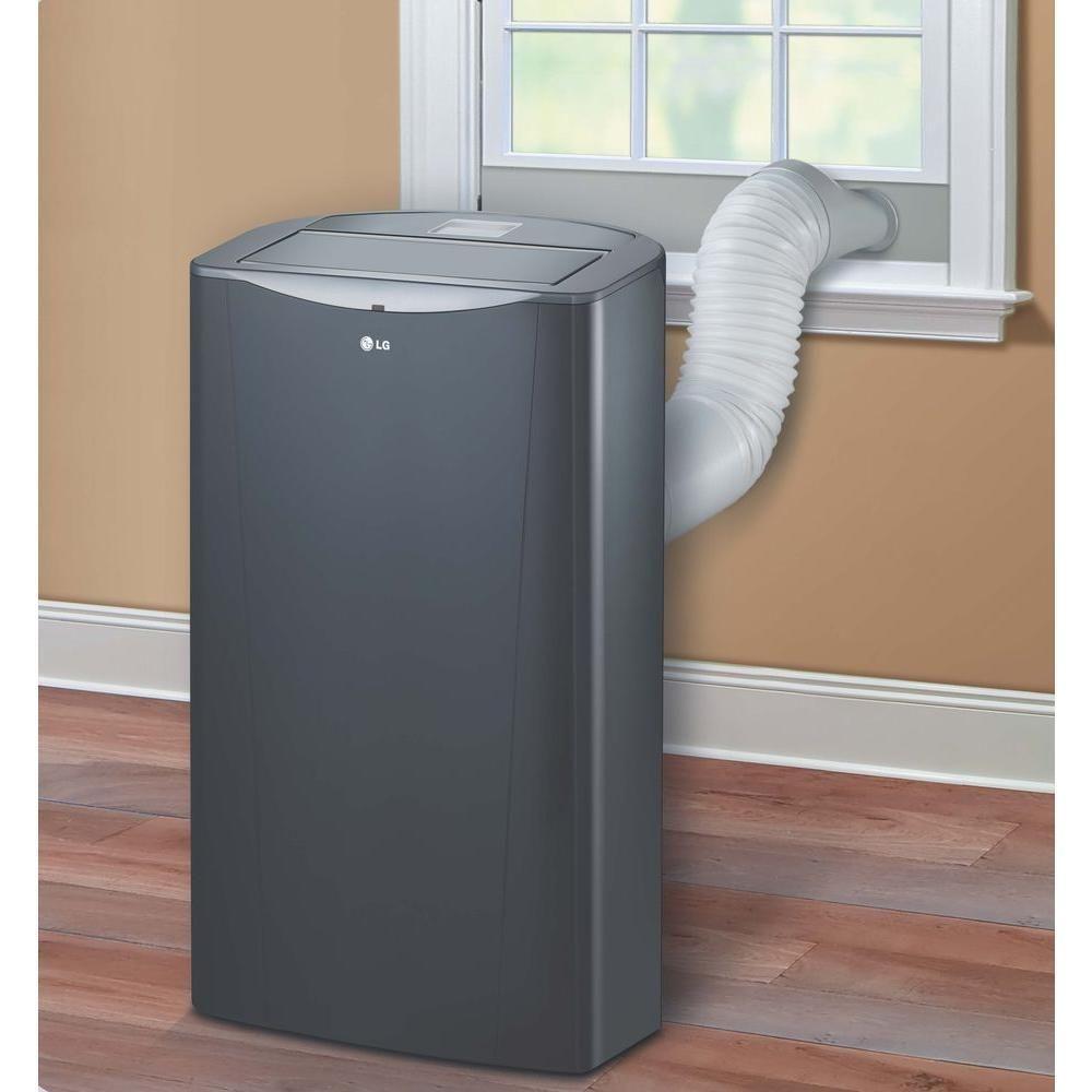 Lg 14 000 Btu Portable Air Conditioner Dehumidifier Remote Cool 500 Sq Ft Room Air Conditioner Portable Portable Air Conditioner Portable Air Conditioning