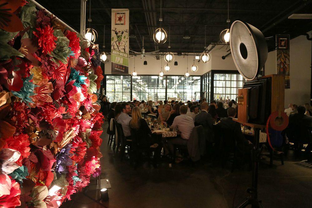 Revolution Brewery Wedding at the Kedzie Tap Room Photo
