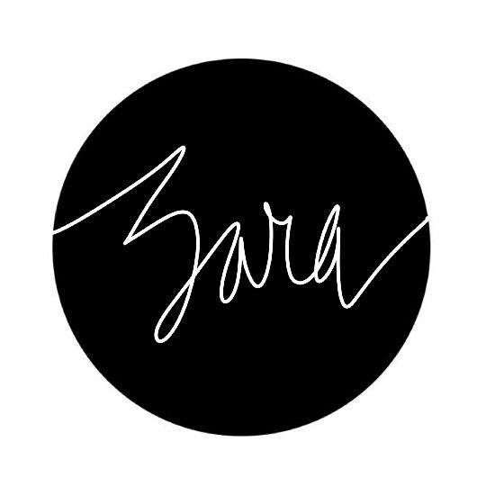 Zara || || Hand-drawn name art by Meg at pinterest com