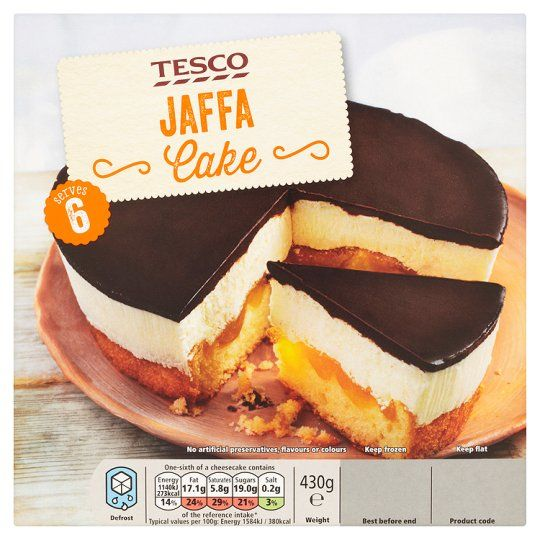 Foods · Tesco Jaffa Cake 430G