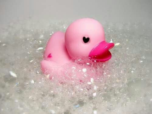 My Pink ducky...