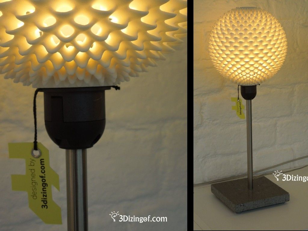Sphere Ribblet Lampshade By Dizingof Lamp Lamp Shades Lamp Shade