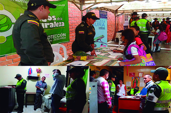 Diversas campañas y catividades adelanta la Policía en Pereira