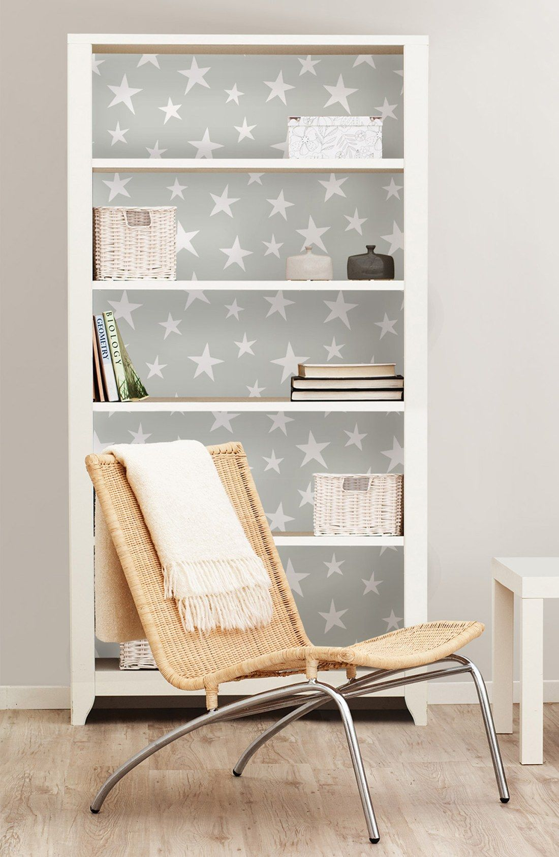Free Shipping And Returns On Wallpops Stardust Reusable Peel