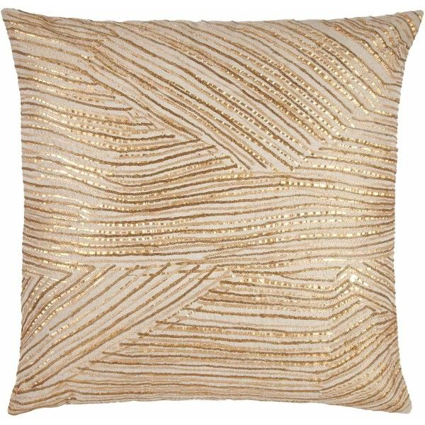 John Robshaw Ginger Fold Pillow ($240) ❤ liked on Polyvore featuring home, home decor, throw pillows, pillows, cushions, decor, autumn home decor, john robshaw, fall home decor and autumn throw pillows