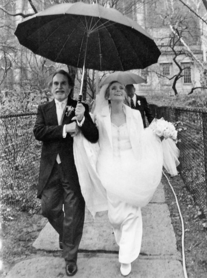 judy collins and louis nelson wedding 1996 famous