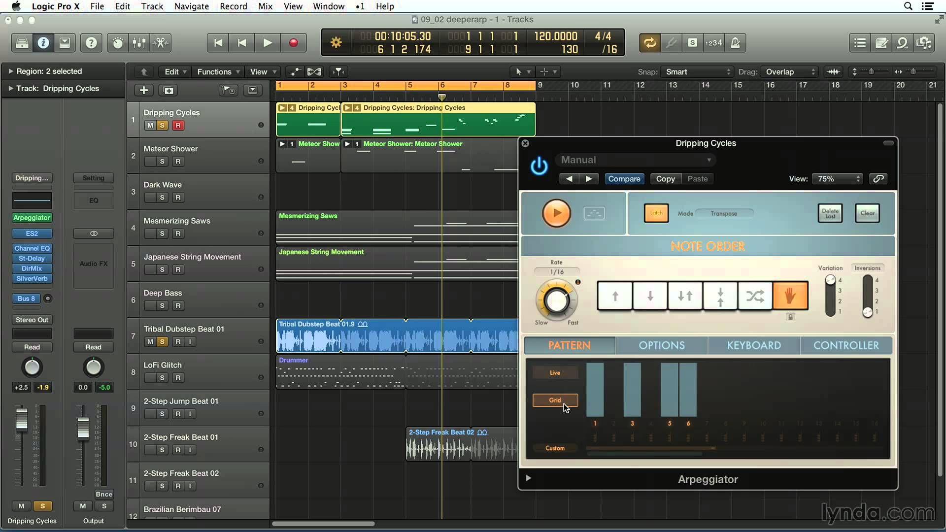 LP10 Going Deeper Into Arpeggiator Logic pro x, Logic