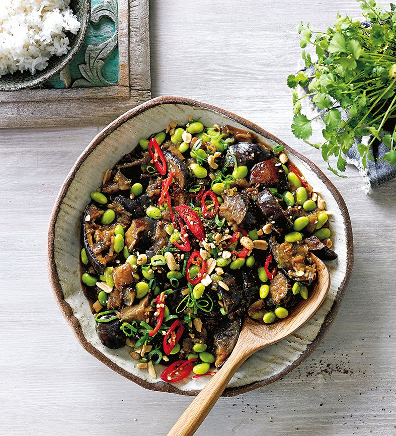 Sichuan chilli eggplant and soybeans from whole food slow cooked by sichuan chilli eggplant and soybeans from whole food slow cooked by olivia andrews forumfinder Images