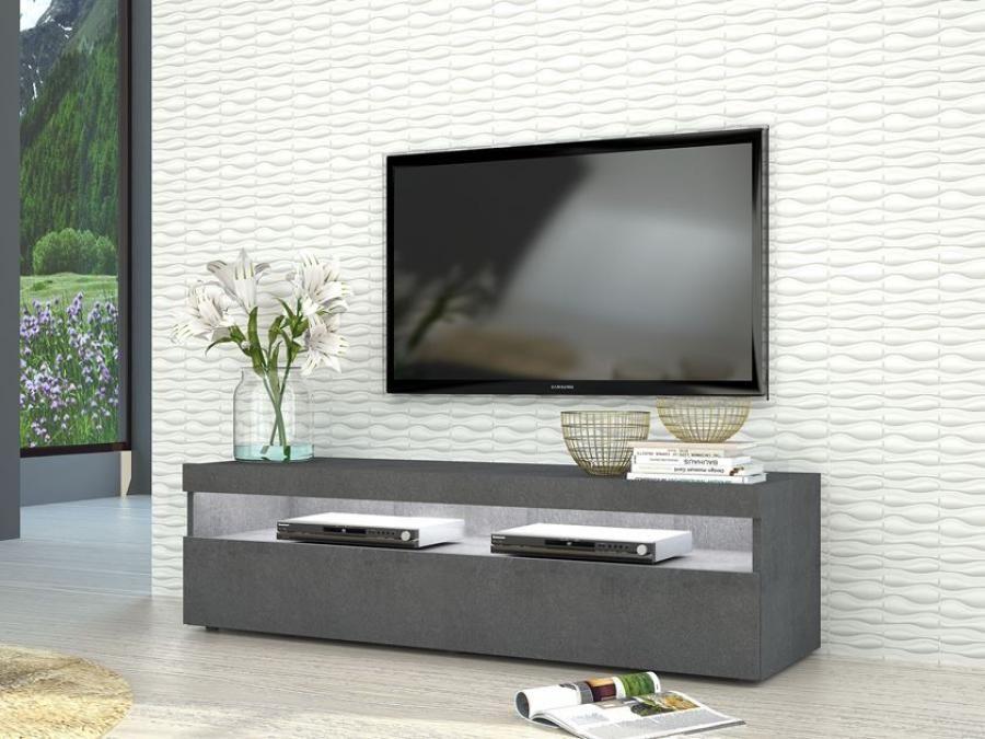 La Credenza Burrata : Burrata modern tv cabinet in grey report finish two sizes optional
