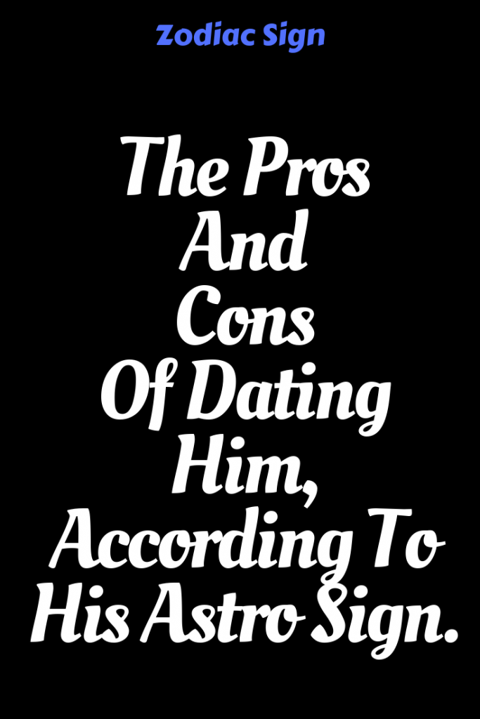 pros and cons of dating an aries