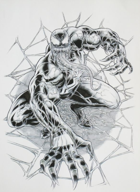 Venom by Juan Jose Ryp Comic Art | VENOM | Pinterest | Hulk, Cómic y ...