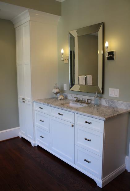 Bathroom Vanities With Matching Linen Closets