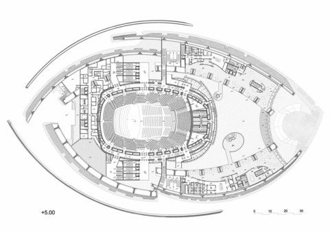 Level plan concert halls pinterest concert for Office design kazakhstan
