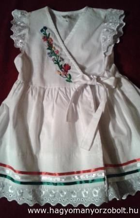 a14b79404c Hímzett kislány ruha - Böbe Hagyományőrző Boltja - webáruház, webshop