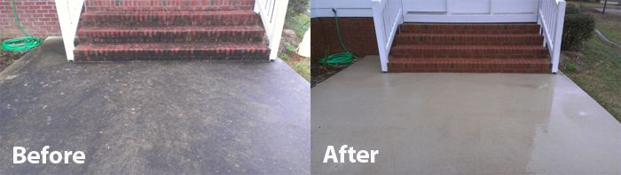 Keep your concrete clean longer with a professional for Clean paint from concrete