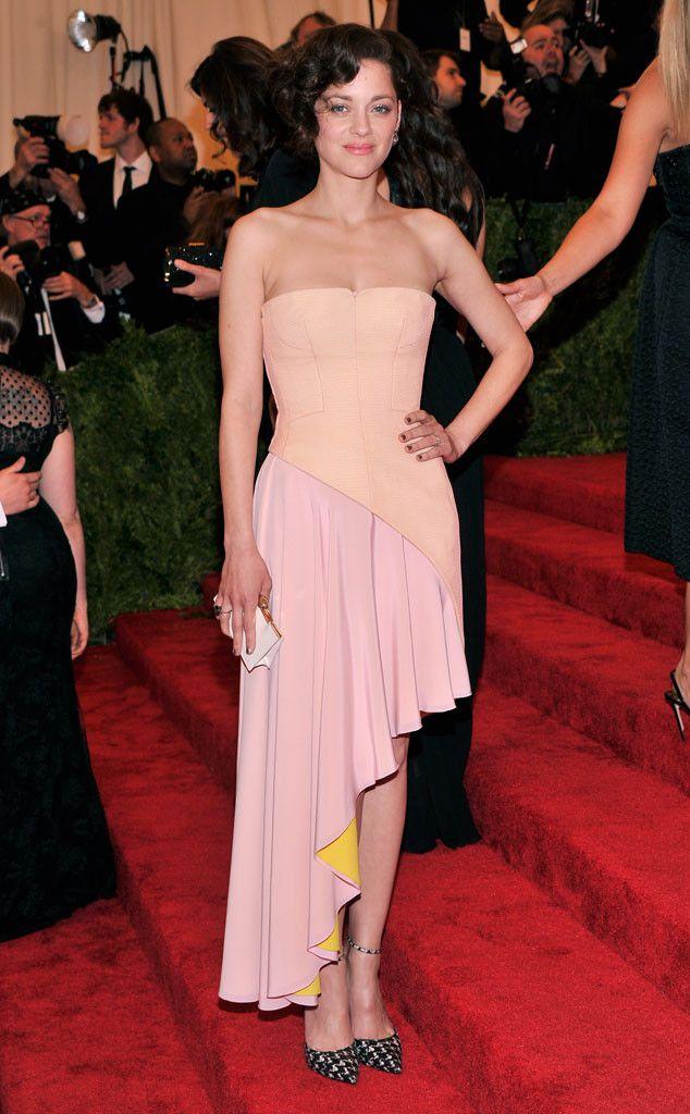 Marion Cotillard in Dior for the Met Gala 2013