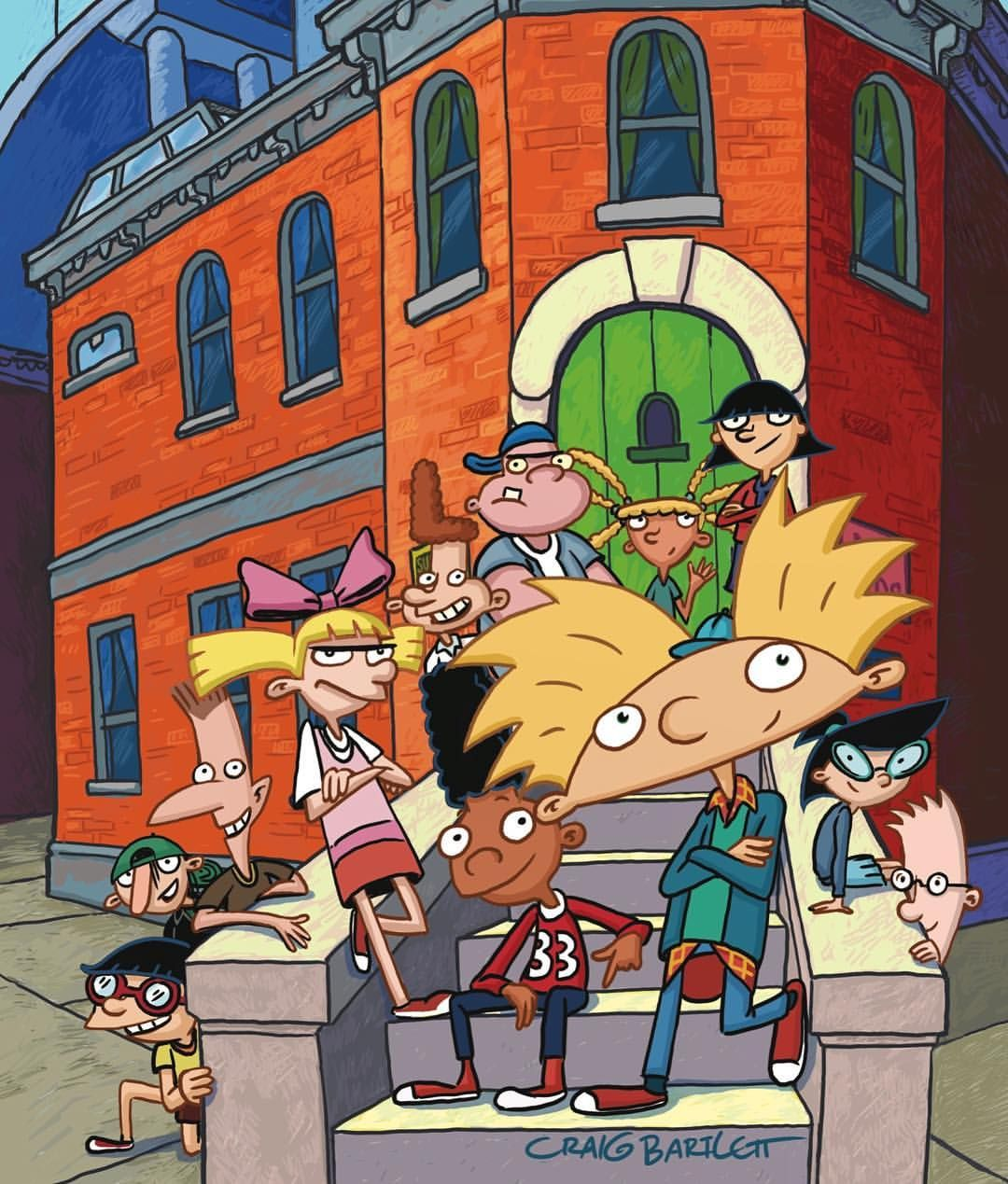 Hey Gang The Ultimate Hey Arnold Collection Drops In November I Picked Out Dibujos Animados Viejos Dibujos Animados De Los Anos 90 Mejores Dibujos Animados