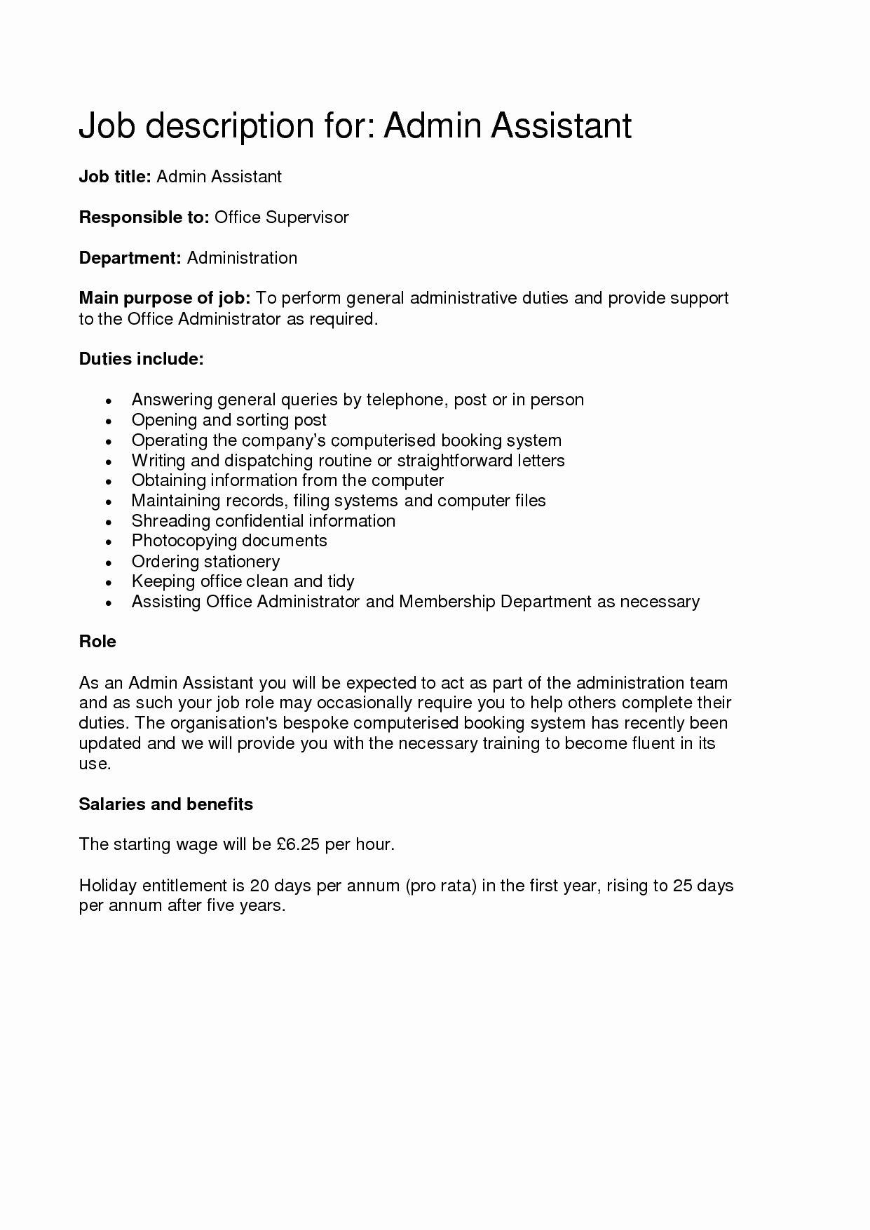 23 Concierge Job Description Resume in 2020 Executive